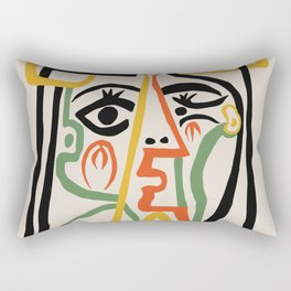 Picasso - Woman's head #1 Rectangular Pillow