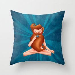 Happy feelings - Hipster Throw Pillow