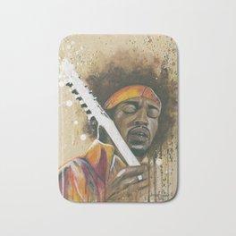 Jimi Hendrix Bath Mat