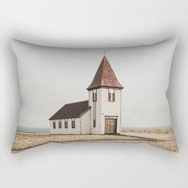 Hellnar Church, Iceland Rectangular Pillow