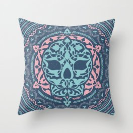 Skull Patterns Throw Pillow