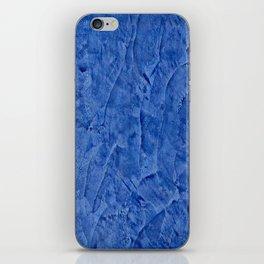 Beautiful Vibrant Light Blue Plaster #society6 #bluedecor #blue iPhone Skin