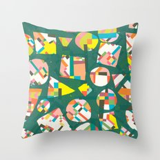 Schema 20 Throw Pillow