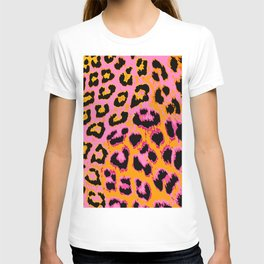 Gold and Pink Leopard Spots T-shirt