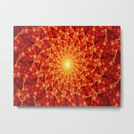 Journey To The Sun Metal Print