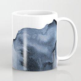 Watercolor Splash in Blue Coffee Mug