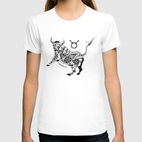 taurus T-shirts featuring Taurus by Anna Shell