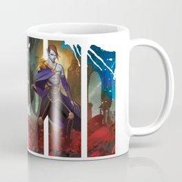 Dragon Prince Cvareh'Ryu (from THE ALCHEMISTS OF LOOM) Coffee Mug