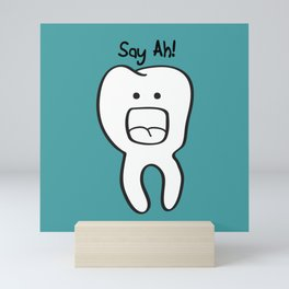 Say Ah! Mini Art Print