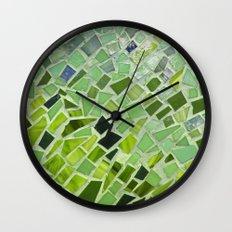 New Growth Mosaic Wall Clock