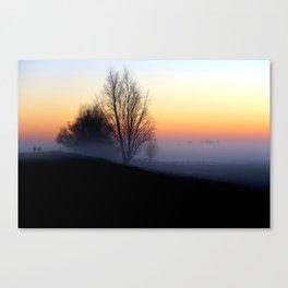 Failing Light Canvas Print