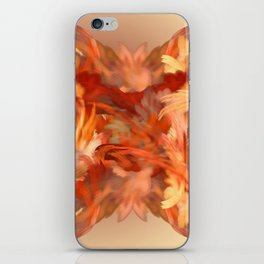 Feel the fire in your Cells iPhone Skin
