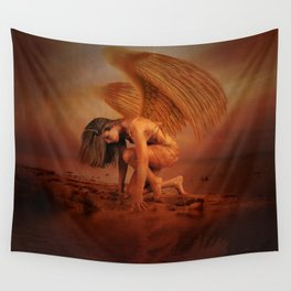 Dawn Rising Wall Tapestry