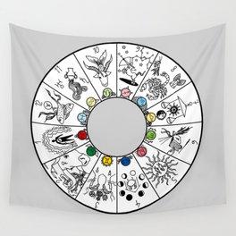 Modern Zodiac Wall Tapestry