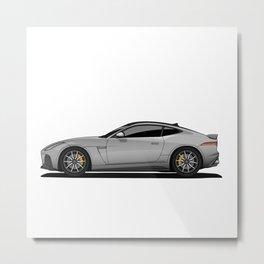 Jaguar Car Metal Print