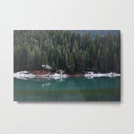 Lake town Metal Print
