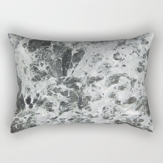 Marble waves Rectangular Pillow