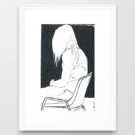 attending Framed Art Print