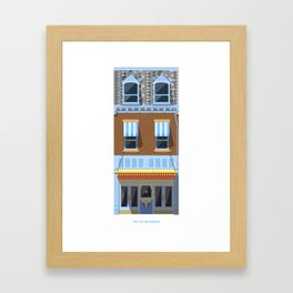 Day at the Movies Framed Art Print