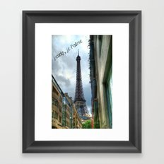 paris, je t'aime Framed Art Print