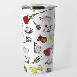Beauty and the Beast Travel Mug