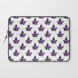 purple maple leaf pattern Laptop Sleeve