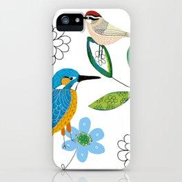 Polish birds iPhone Case