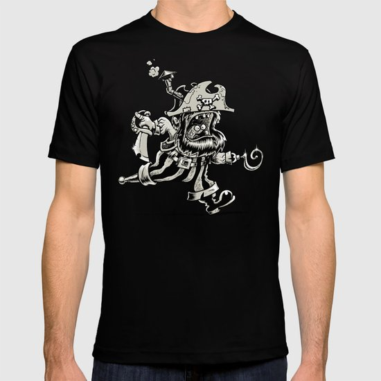 Steam powered Pirate T-shirt