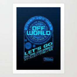 Off World Art Print