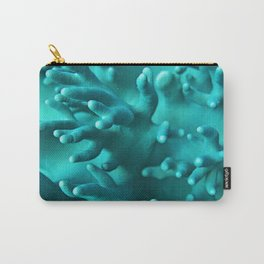 Soft Blue Coral Carry-All Pouch
