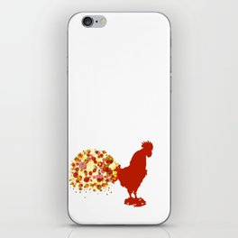 Chinese Lunar New Year Of The Rooster Zodiac Animal 2017 iPhone Skin