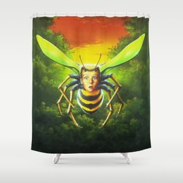 Why I'm Afraid of Bees Shower Curtain