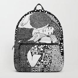 Gustav Klimt - The kiss Backpack