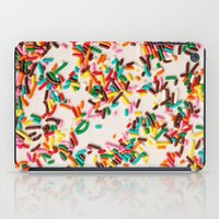 sprinkles iPad Cases featuring Sprinkles  by Laura Ruth