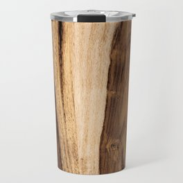 Sheesham Wood Grain Texture, Close Up Travel Mug
