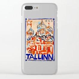 European Capital - Tallinn Clear iPhone Case