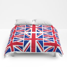 British Flag Comforters