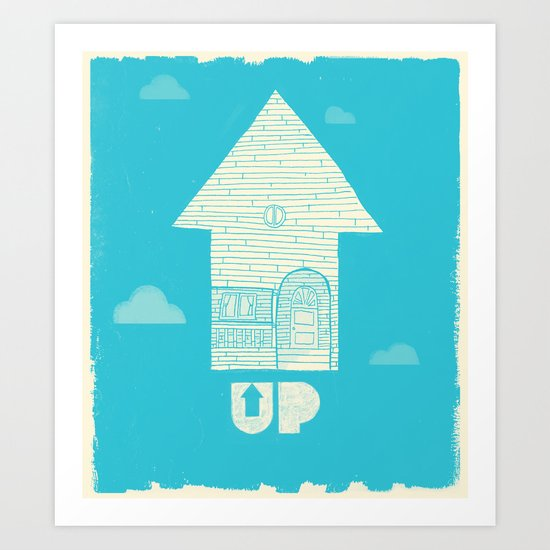 UP - Movie Poster Art Print