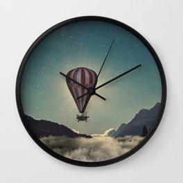 Hot Air ballon Wall Clock