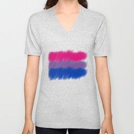 Bi Pride Flag Unisex V-Neck