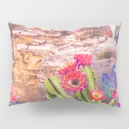 Flowers in the desert Pillow Sham