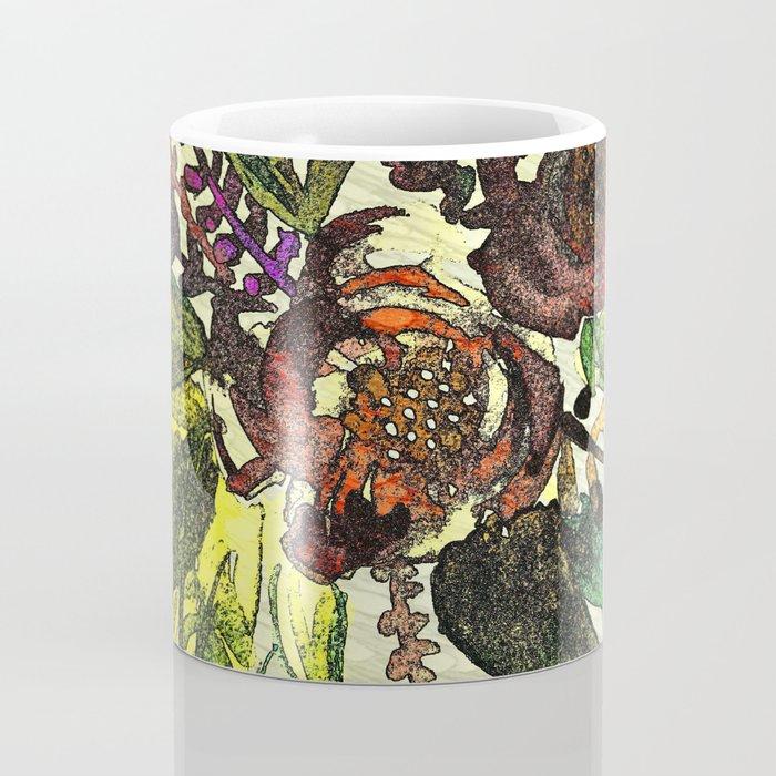 Art Nuovo Flowers Coffee Mug