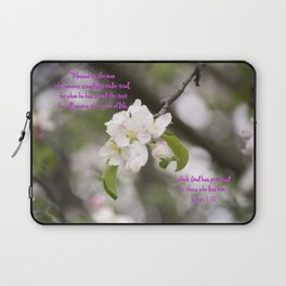 March 4 - James 1:12 Laptop Sleeve