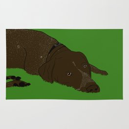 German Shorthaired Pointer Rug