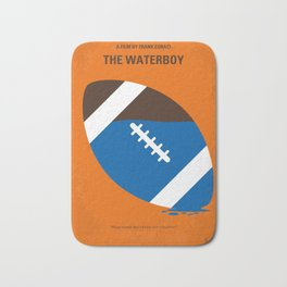 No580 My The Waterboy minimal movie poster Bath Mat