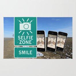 Selfie Zone - Smile Rug