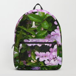 Violet Trumpets Backpack