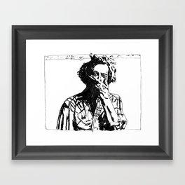 Bon Iver - Justin Vernon Framed Art Print