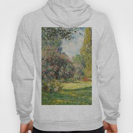 The Parc Monceau by Claude Monet Hoody
