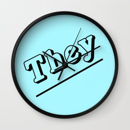 They Wall Clock